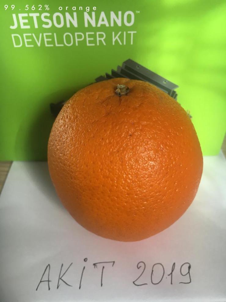 апельсин розпізнано