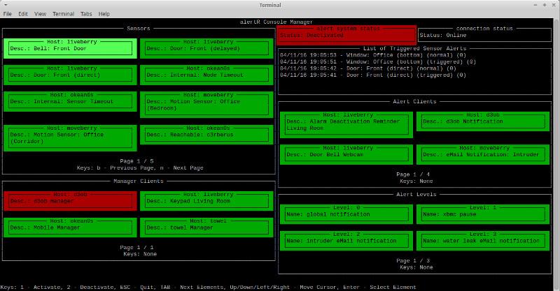 AlertR – система управління охоронною сигналізацією на базі ОС Linux